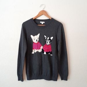 J. Crew Mercantile Dog Sweater Size Medium